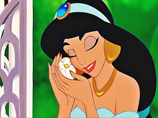 Papel de Parede Infantil Jasmine 0002 - Papel de Parede para Quarto  - Paredes Decoradas