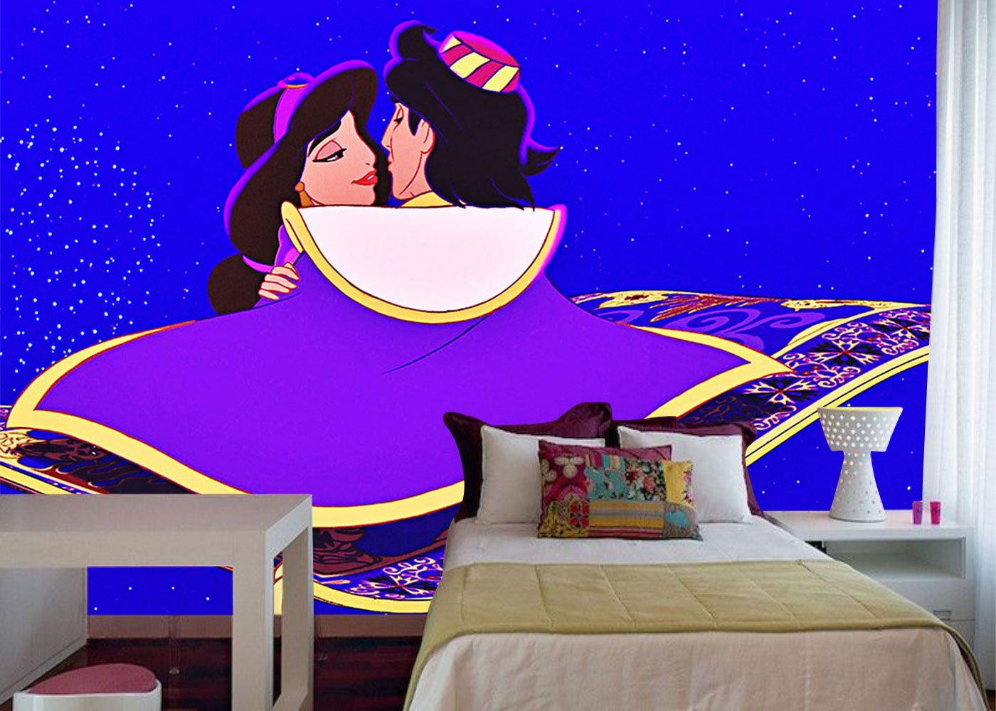 Papel de Parede Infantil Jasmine 0012 - Papel de Parede para Quarto