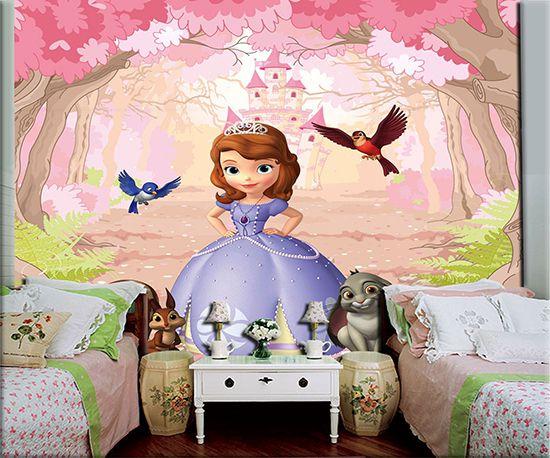 Papel de Parede Infantil Princesa Sofia  0002