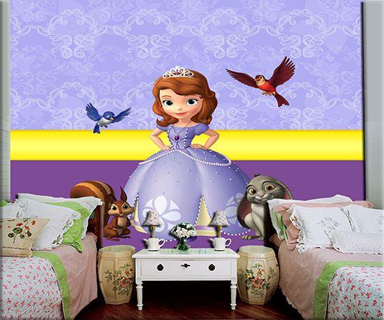 Papel de Parede Infantil Princesa Sofia  0004