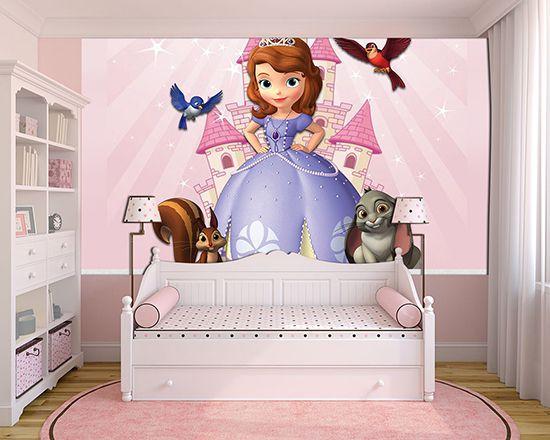 Papel de Parede Infantil Princesa Sofia  0007  - Paredes Decoradas