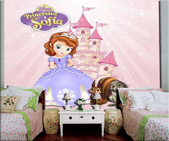 Papel de Parede Infantil Princesa Sofia  0008
