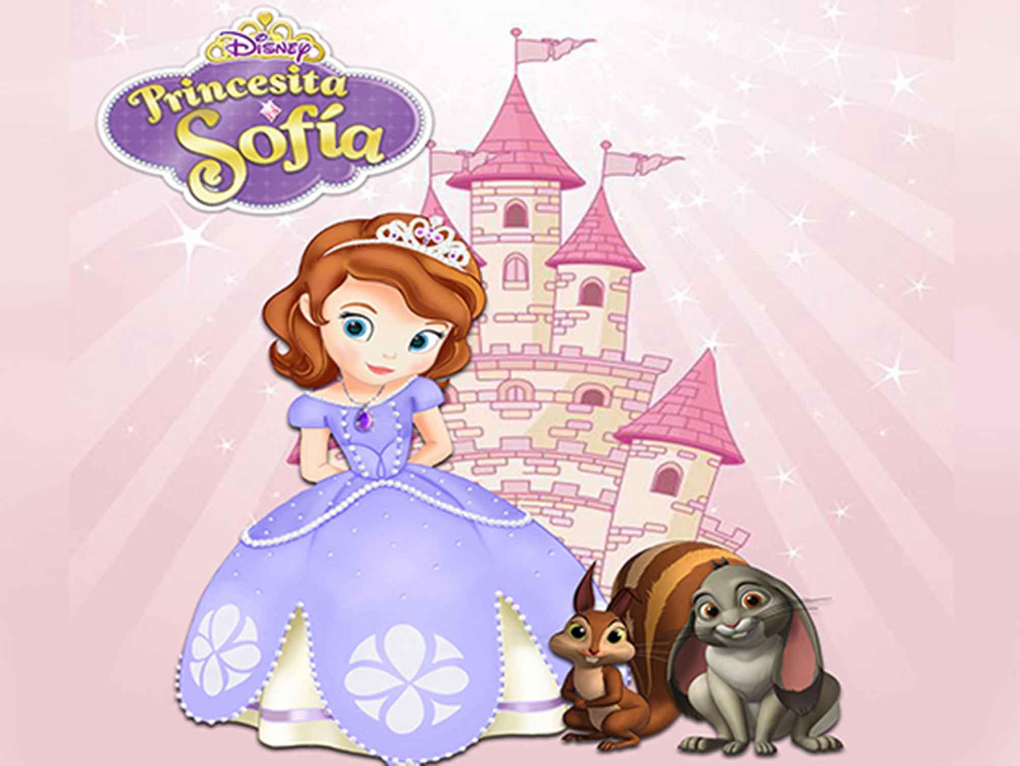 Papel de Parede Infantil Princesa Sofia  0008  - Paredes Decoradas