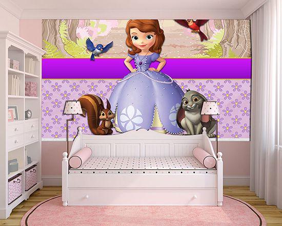 Papel de Parede Infantil Princesa Sofia  0010
