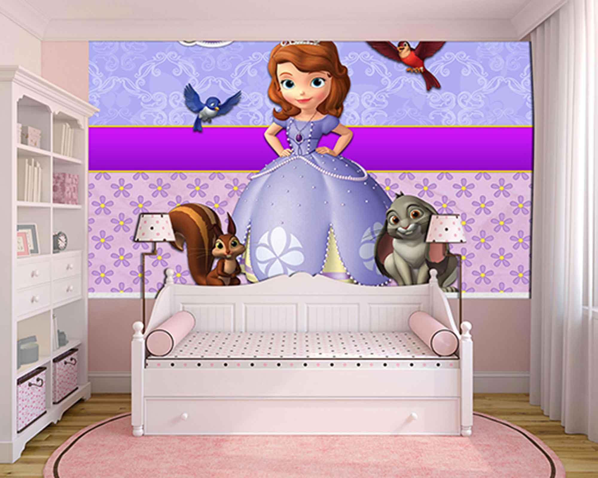 Papel de Parede Infantil Princesa Sofia  0012