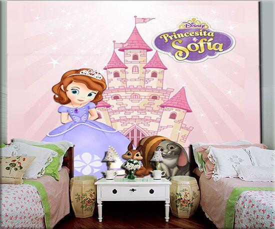 Papel de Parede Infantil Princesa Sofia  0016