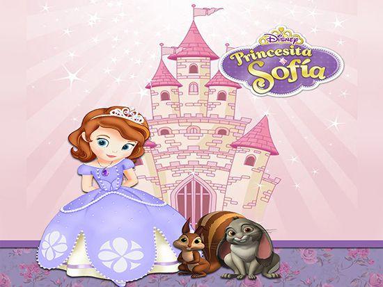 Papel de Parede Infantil Princesa Sofia  0017  - Paredes Decoradas