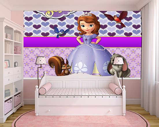 Papel de Parede Infantil Princesa Sofia  0020