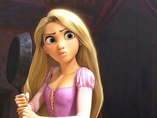 Papel de Parede Infantil Rapunzel  0008  - Paredes Decoradas