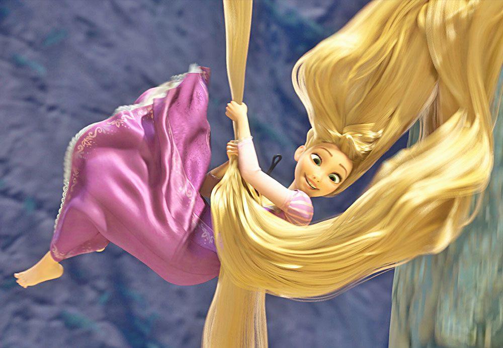 Papel de Parede Infantil Rapunzel  0014