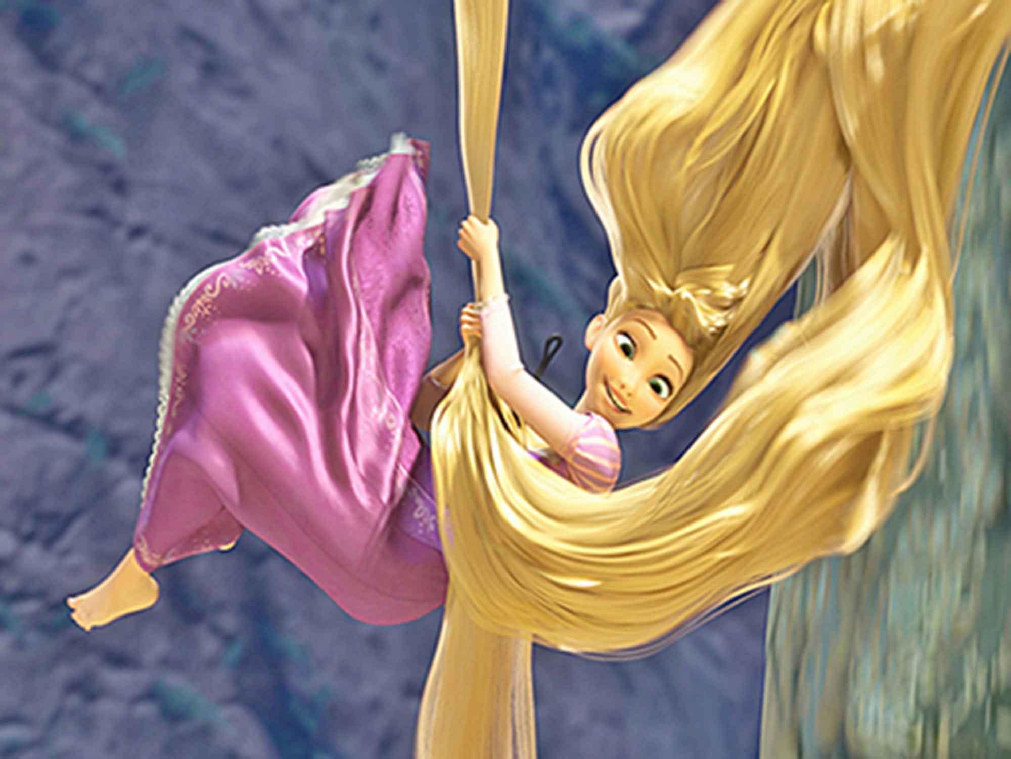 Papel de Parede Infantil Rapunzel  0014  - Paredes Decoradas
