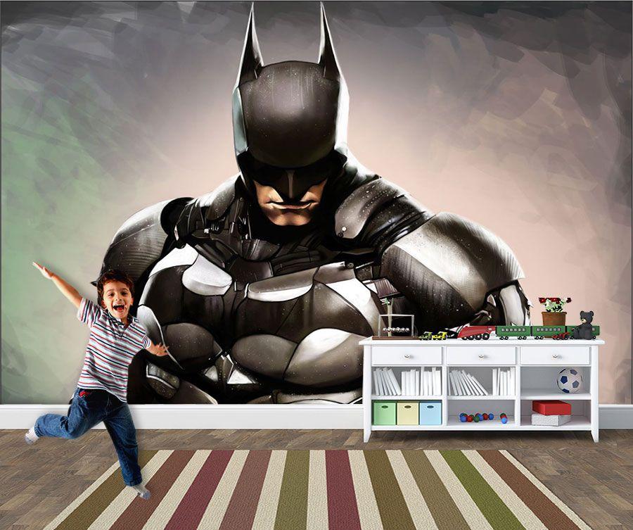 Papel de Parede Infantil Super Heróis 0005 -Adesivos de Parede