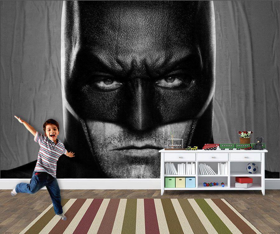 Papel de Parede Infantil Super Heróis 0006 -Adesivos de Parede