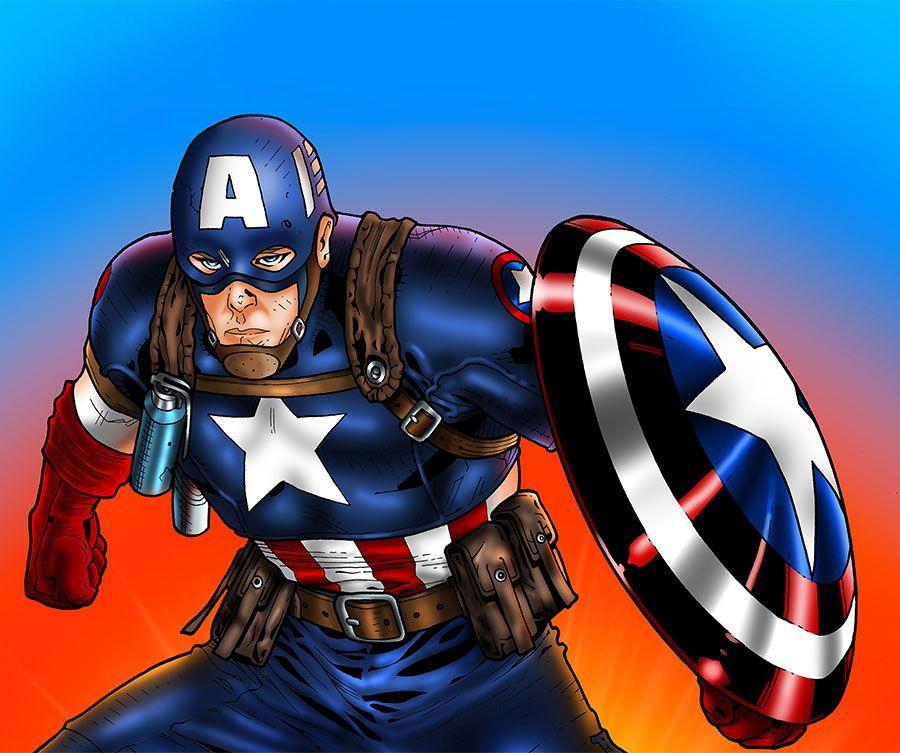 Papel de Parede Infantil Super Heróis 0025 - Adesivos de Parede