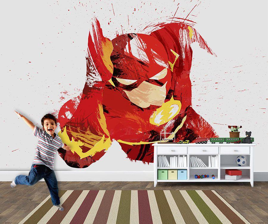 Papel de Parede Infantil Super Heróis 0029 - Adesivos de Parede  - Paredes Decoradas