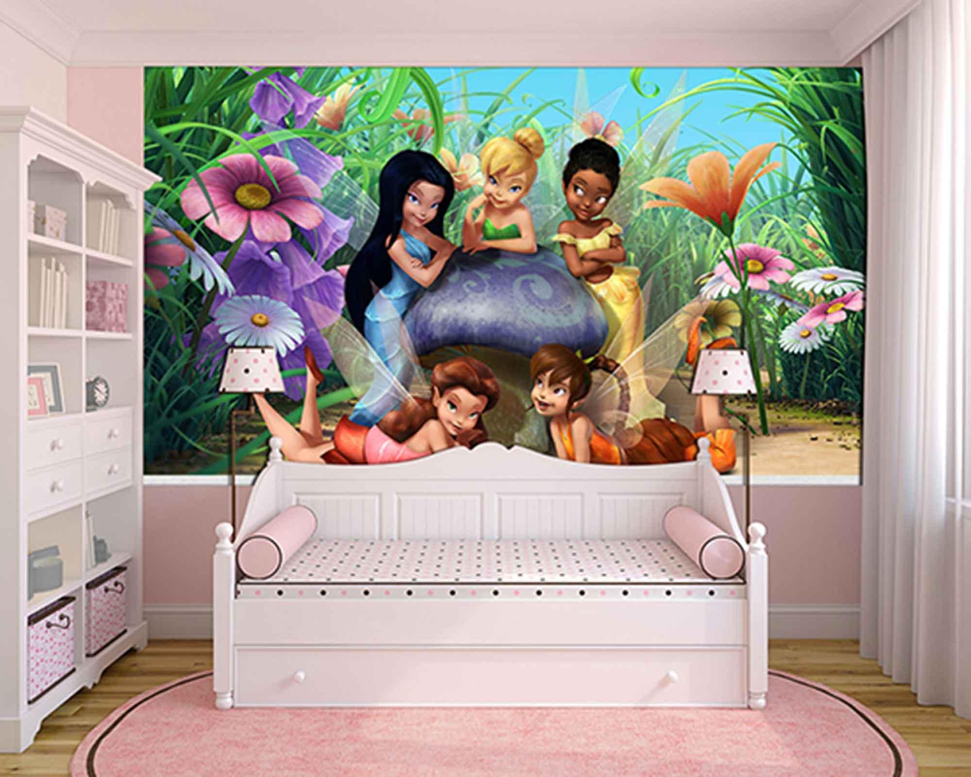 Papel de Parede Infantil Tinkerbell 0009 - Papel de Parede para Quarto