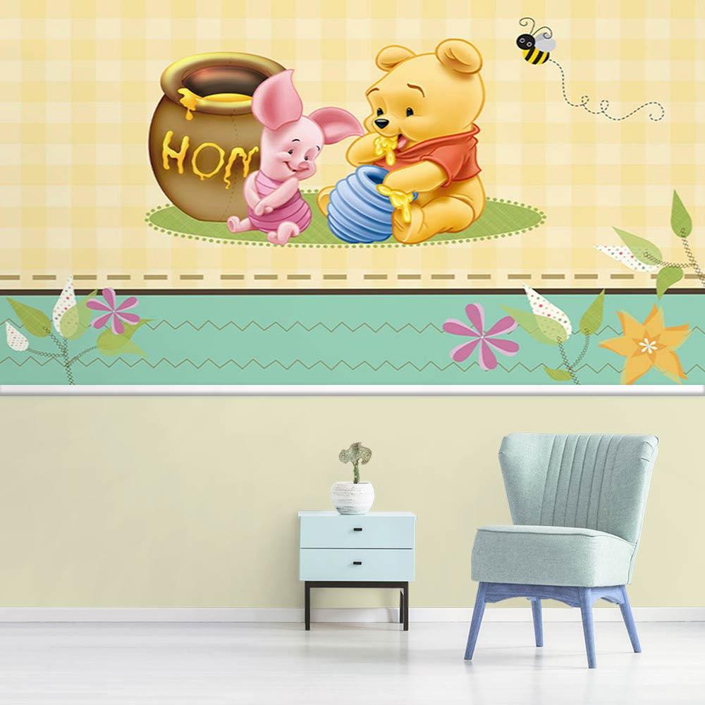 Papel de Parede Infantil Ursinho Pooh 0004
