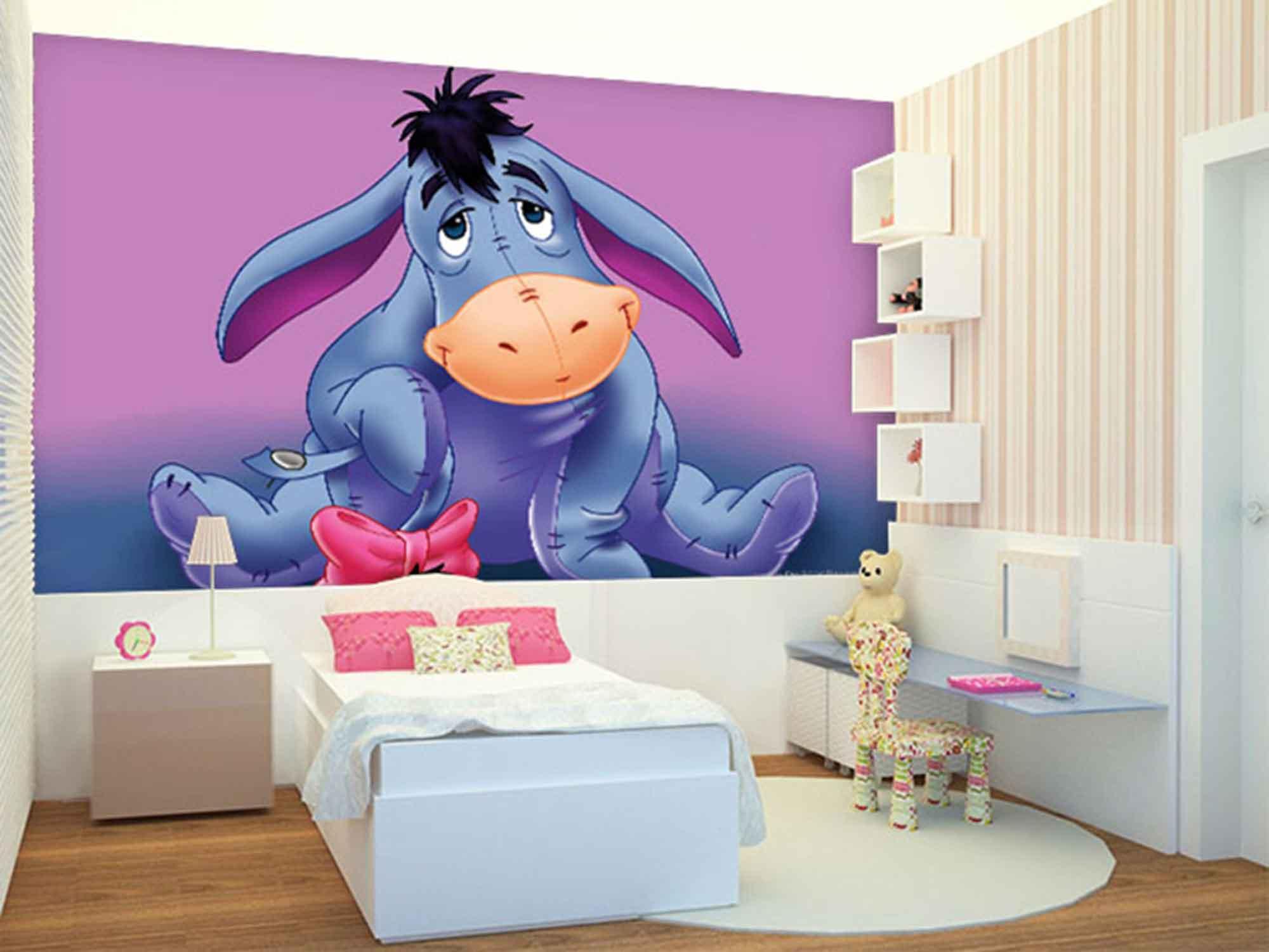 Papel de Parede Infantil Ursinho Pooh 0005