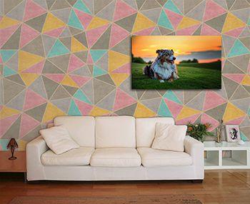 Papel de Parede Mosaico 0002 - Adesivos de Parede