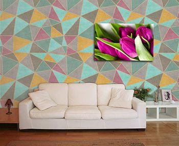 Papel de Parede Mosaico 0003 - Adesivos de Parede