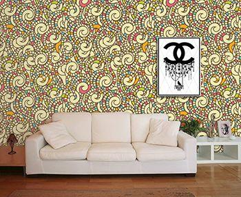 Papel de Parede Mosaico 0005 - Adesivos de Parede