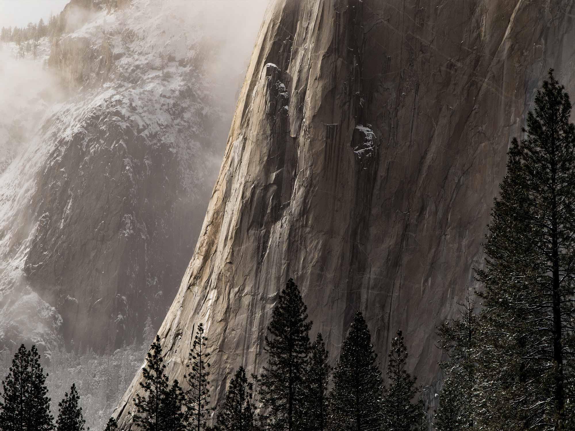 Papel de Parede Paisagens Montanhas 0007 - Adesivo de Parede   - Paredes Decoradas