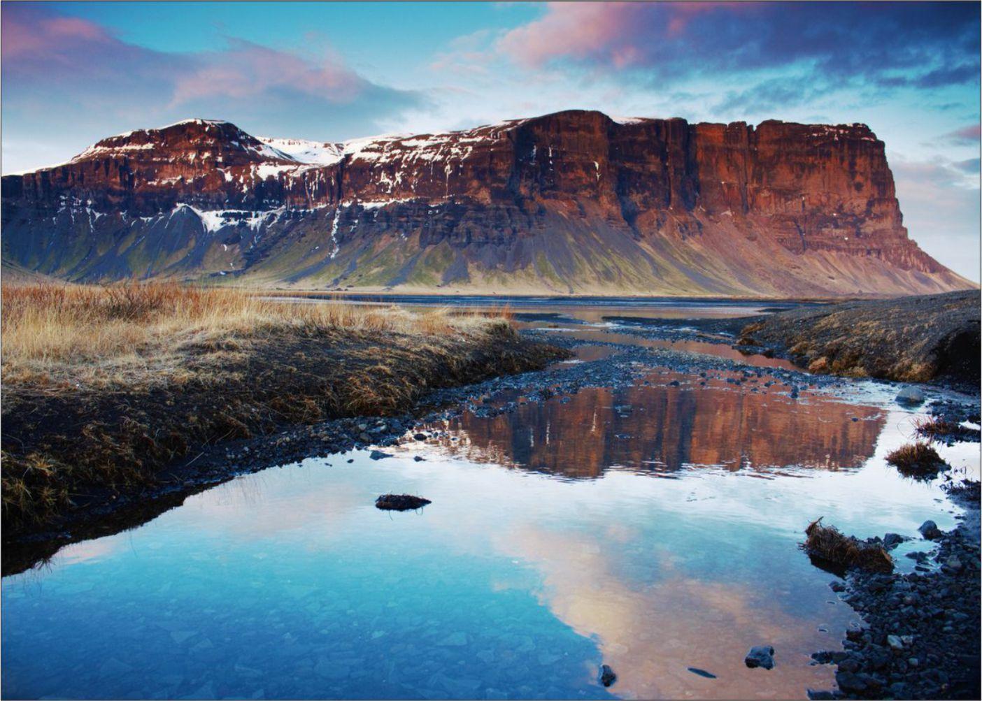 Papel de Parede Paisagens Montanhas 0016 - Adesivo de Parede