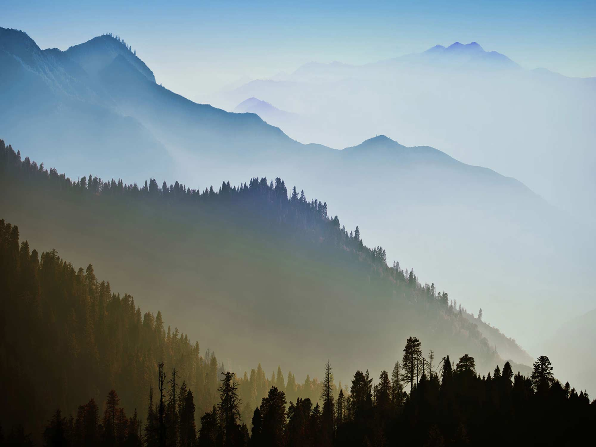 Papel de Parede Paisagens Montanhas 0016 - Adesivo de Parede   - Paredes Decoradas