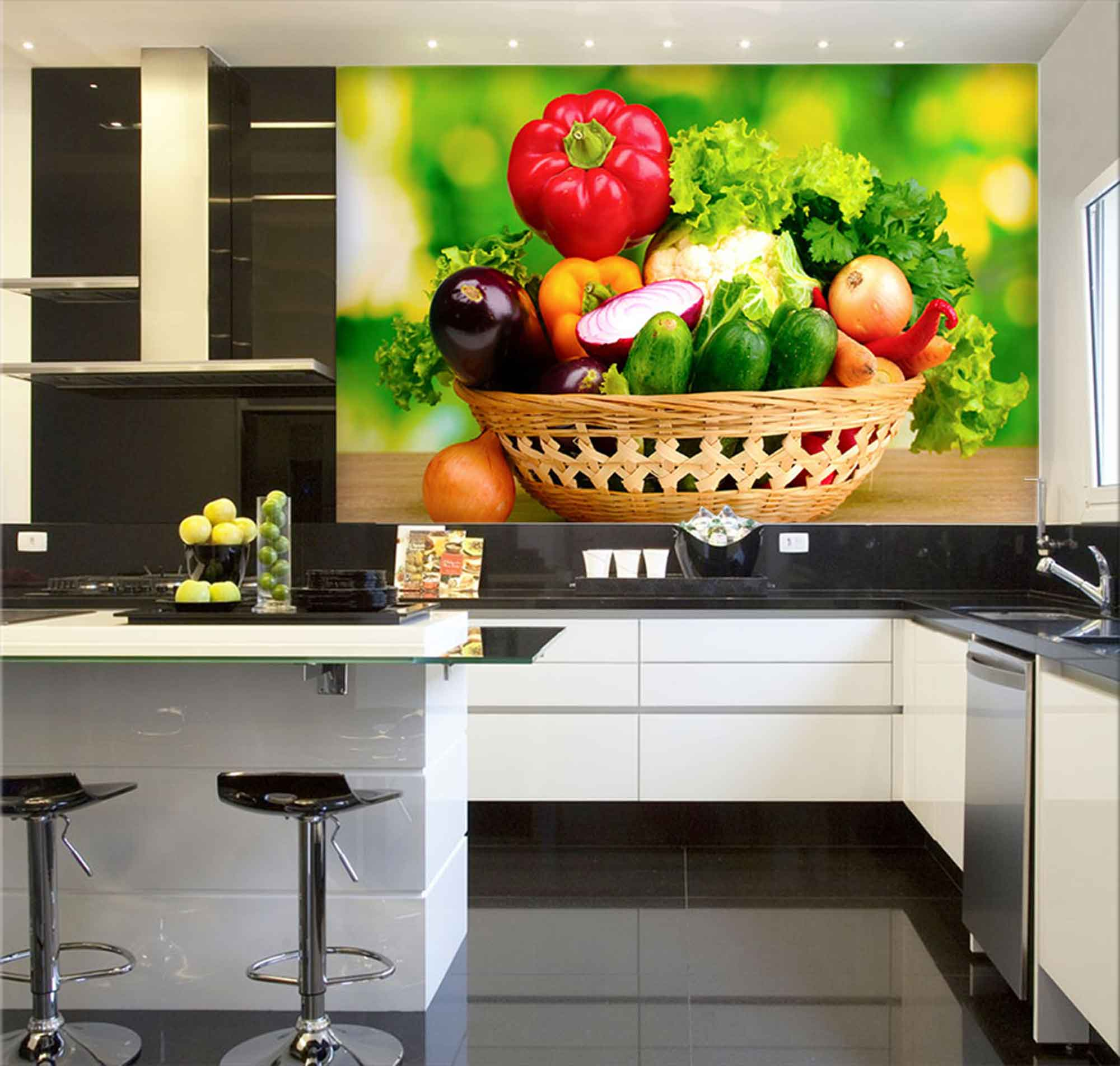 Papel De Parede Para Cozinha 0007 - Sobmedida: m²
