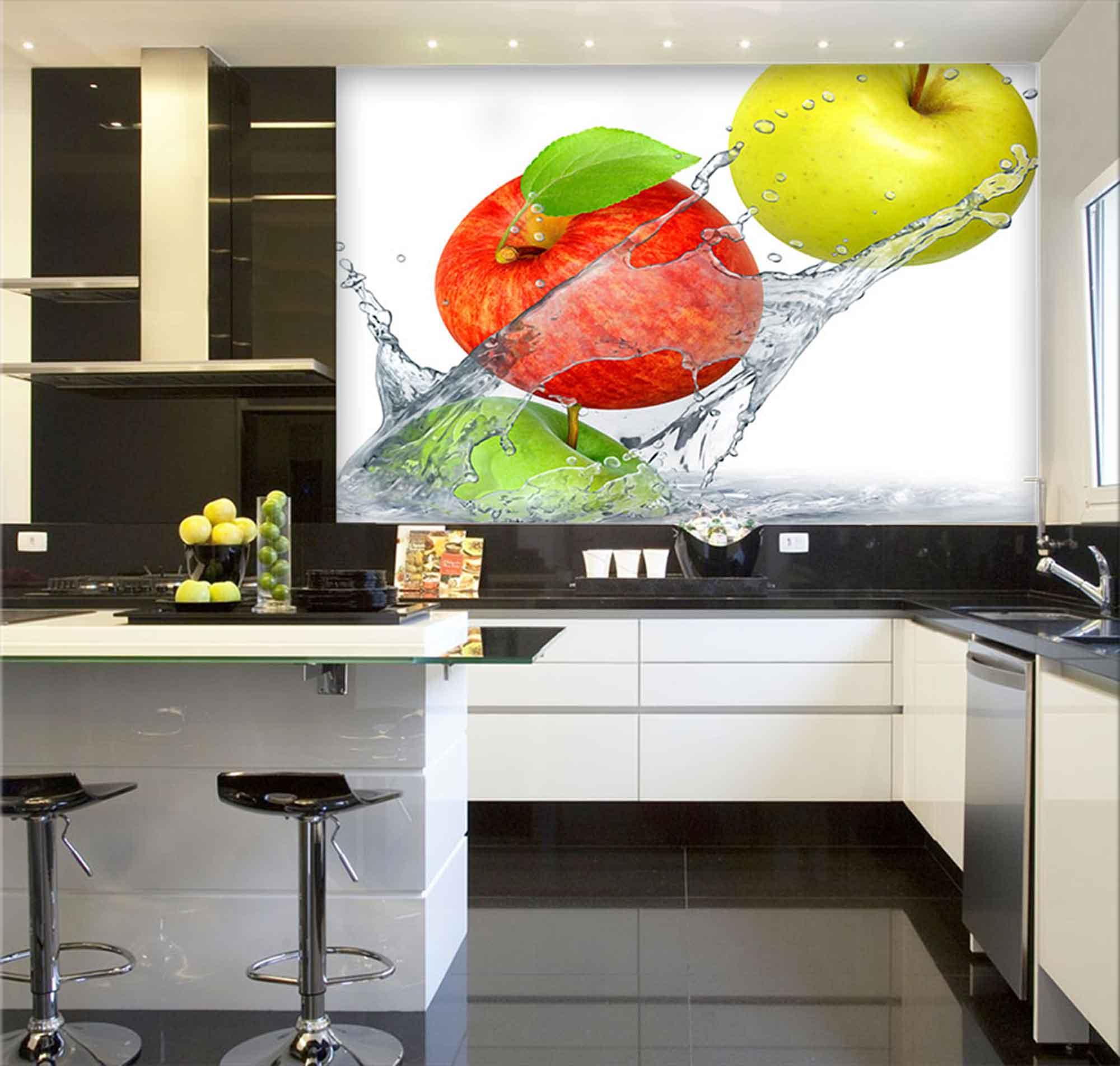 Papel De Parede Para Cozinha 0008 - Sobmedida: m²   - Paredes Decoradas
