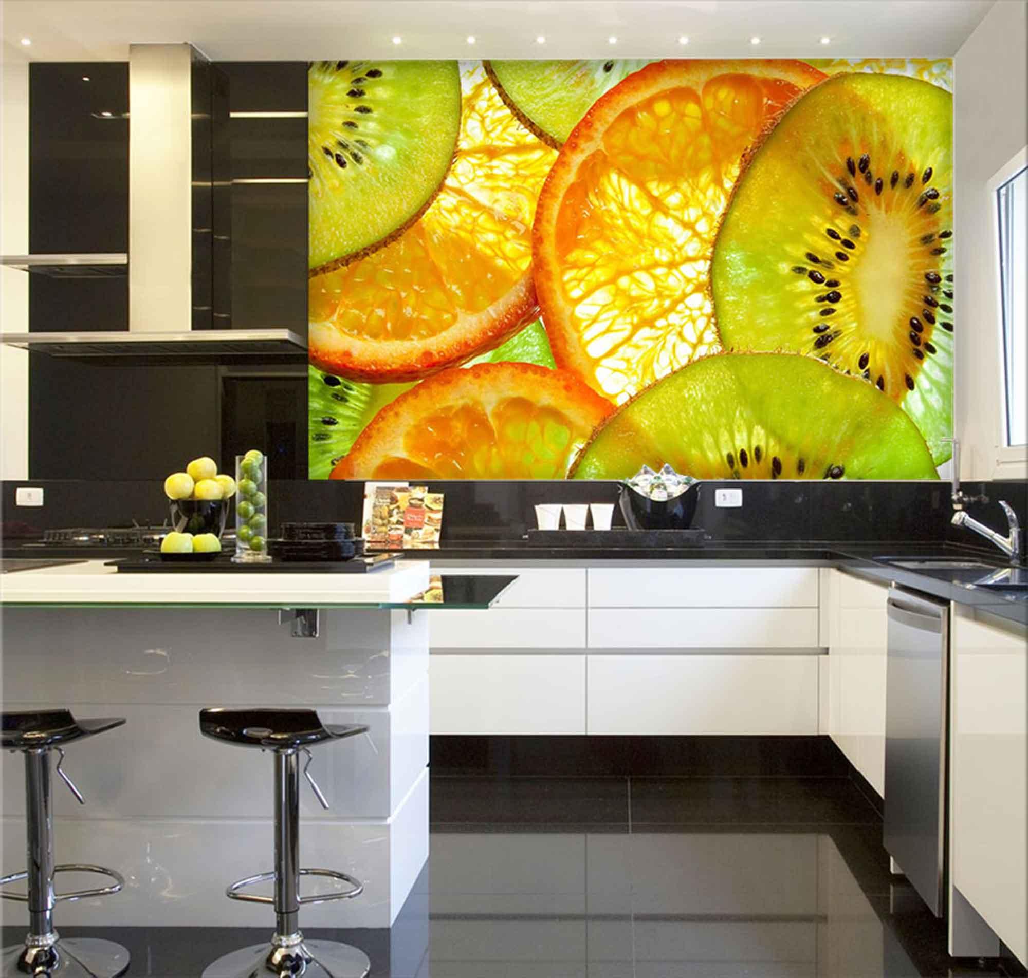 Papel De Parede Para Cozinha 0012 - Sobmedida: m²