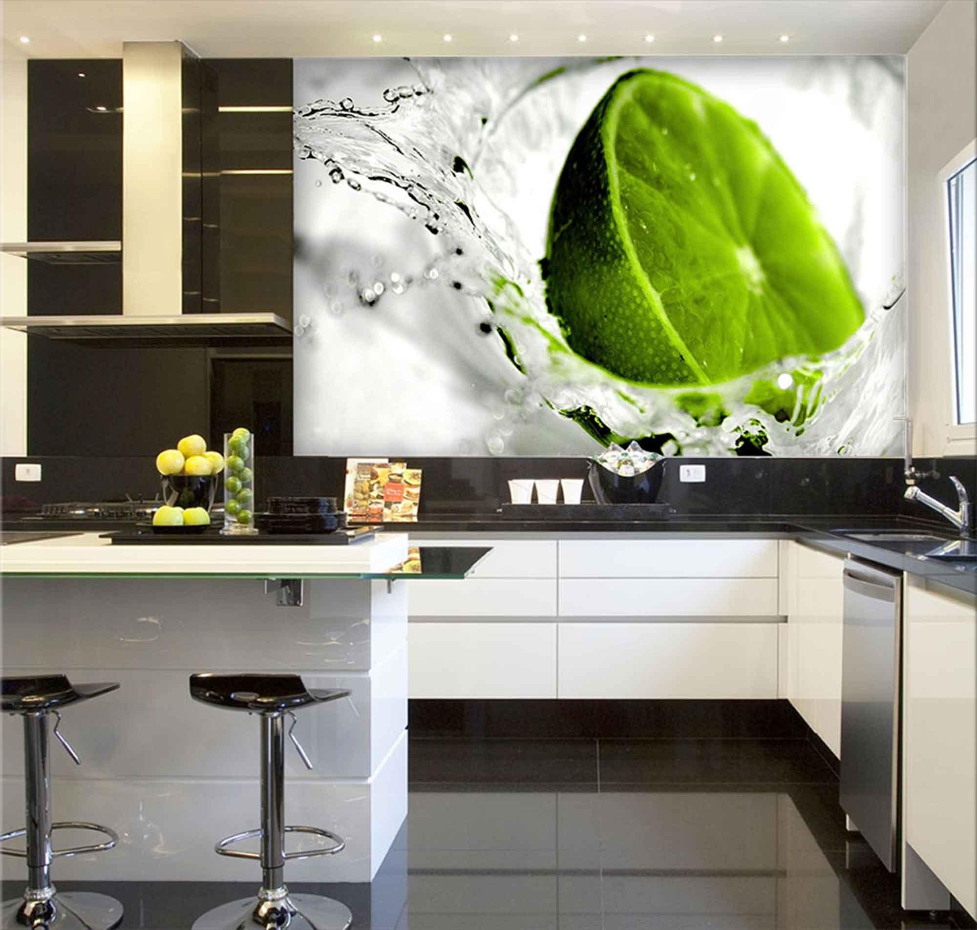Papel De Parede Para Cozinha 0014 - Sobmedida: m²   - Paredes Decoradas