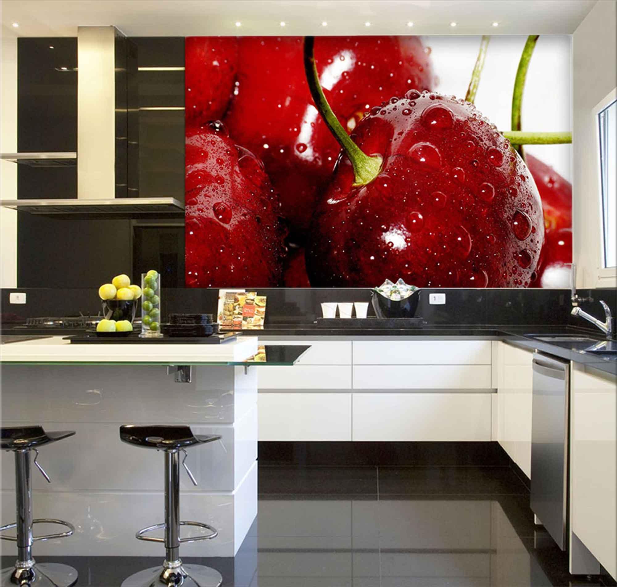 Papel De Parede Para Cozinha 0015 - Sobmedida: m²  - Paredes Decoradas