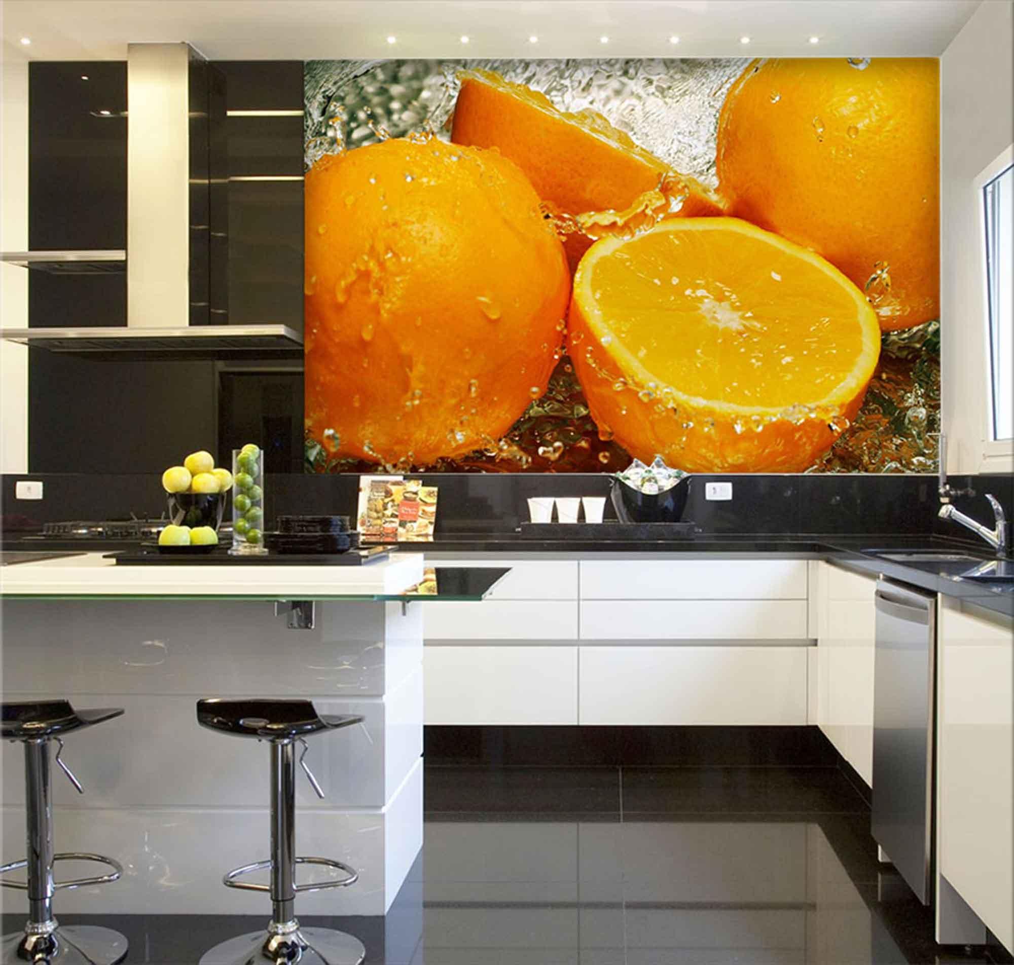 Papel De Parede Para Cozinha 0017 - Sobmedida: m²   - Paredes Decoradas