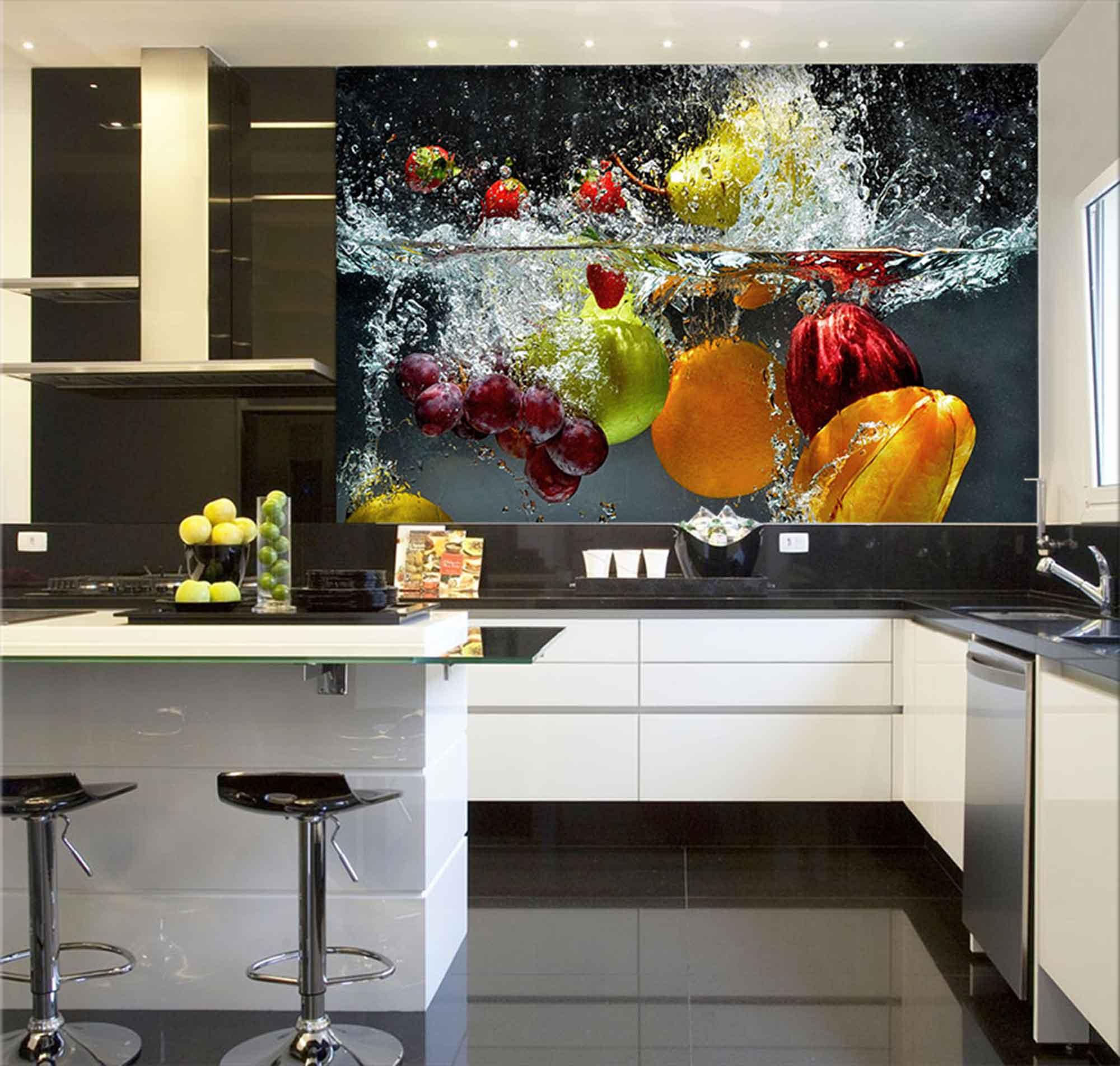 Papel De Parede Para Cozinha 0028 - Sobmedida: m²