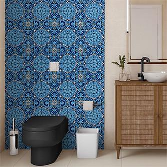 Papel de Parede para Cozinha Azulejos 0002 - Adesivos de Parede  - Paredes Decoradas