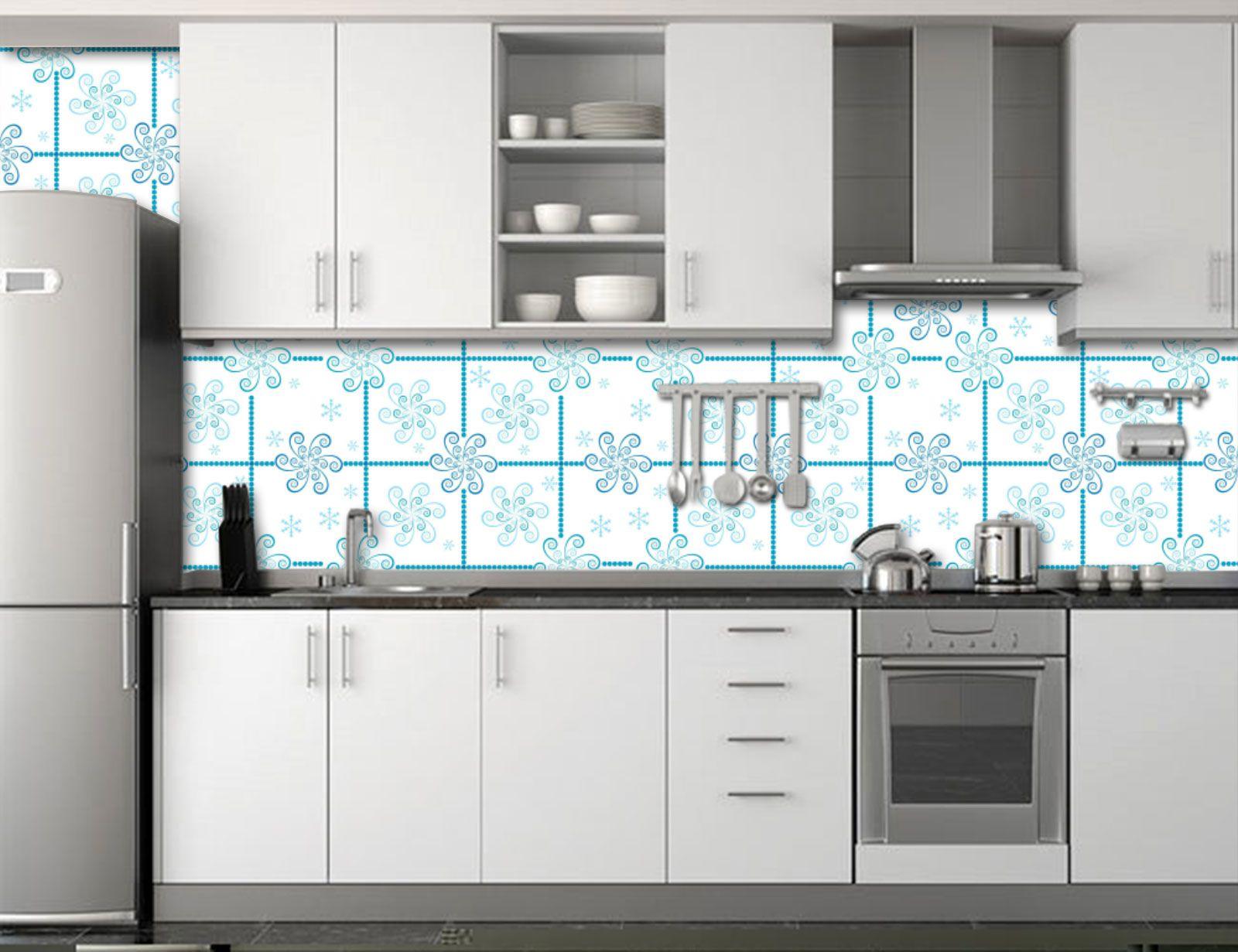 Papel de Parede para Cozinha Azulejos 0004 - Adesivos de Parede
