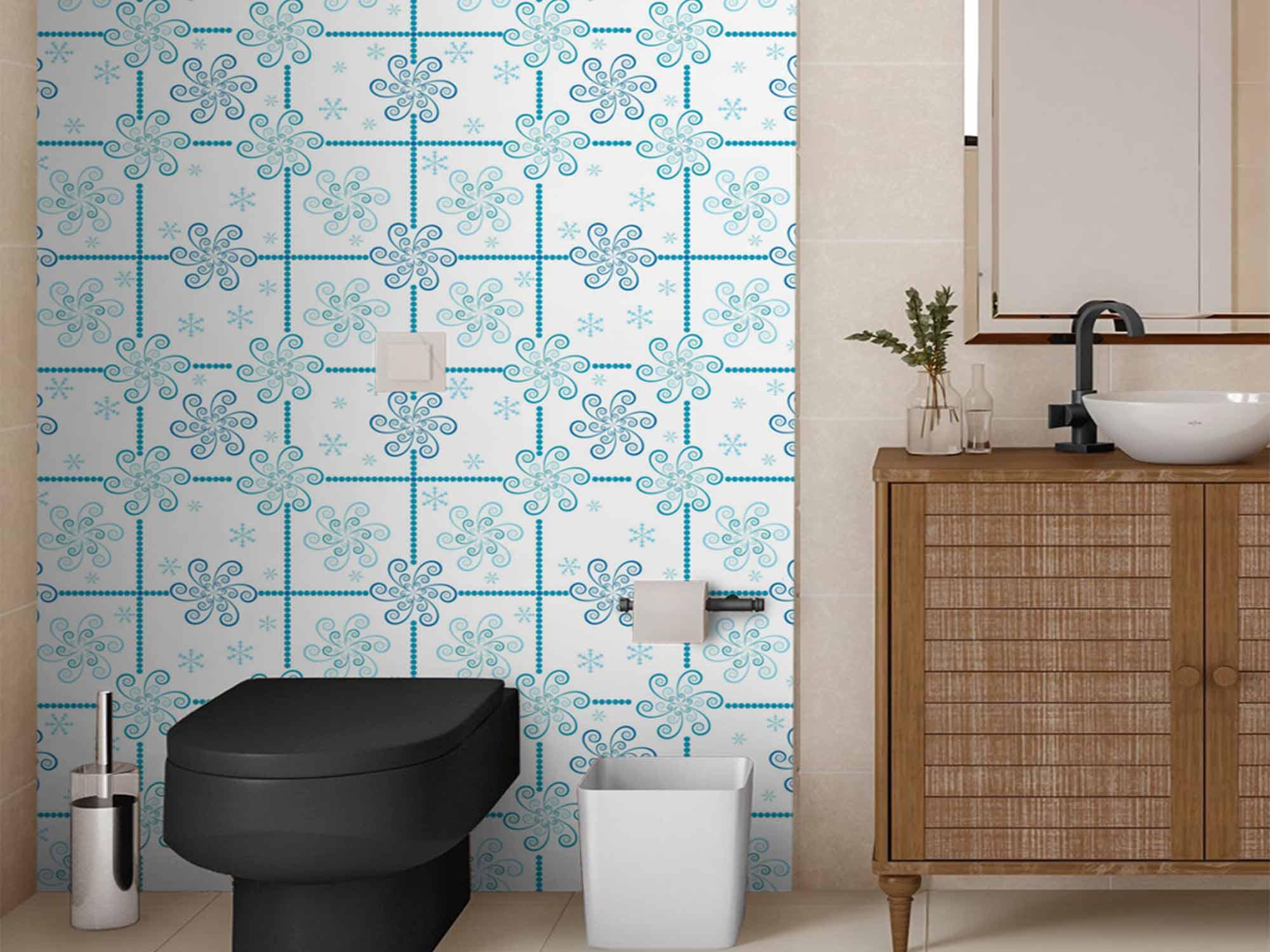 Papel de Parede para Cozinha Azulejos 0004 - Adesivos de Parede  - Paredes Decoradas