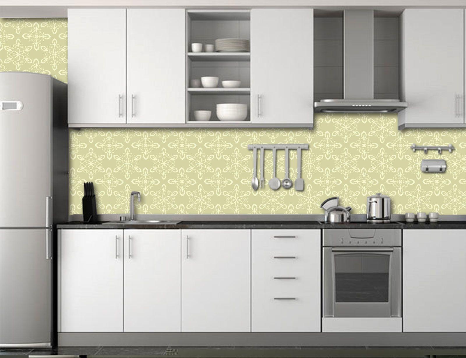 Papel de Parede para Cozinha Azulejos 0007 - Adesivos de Parede  - Paredes Decoradas