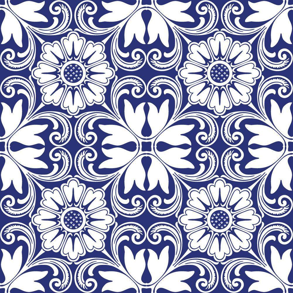 Papel de Parede para Cozinha Azulejos 0011 - Adesivos de Parede  - Paredes Decoradas
