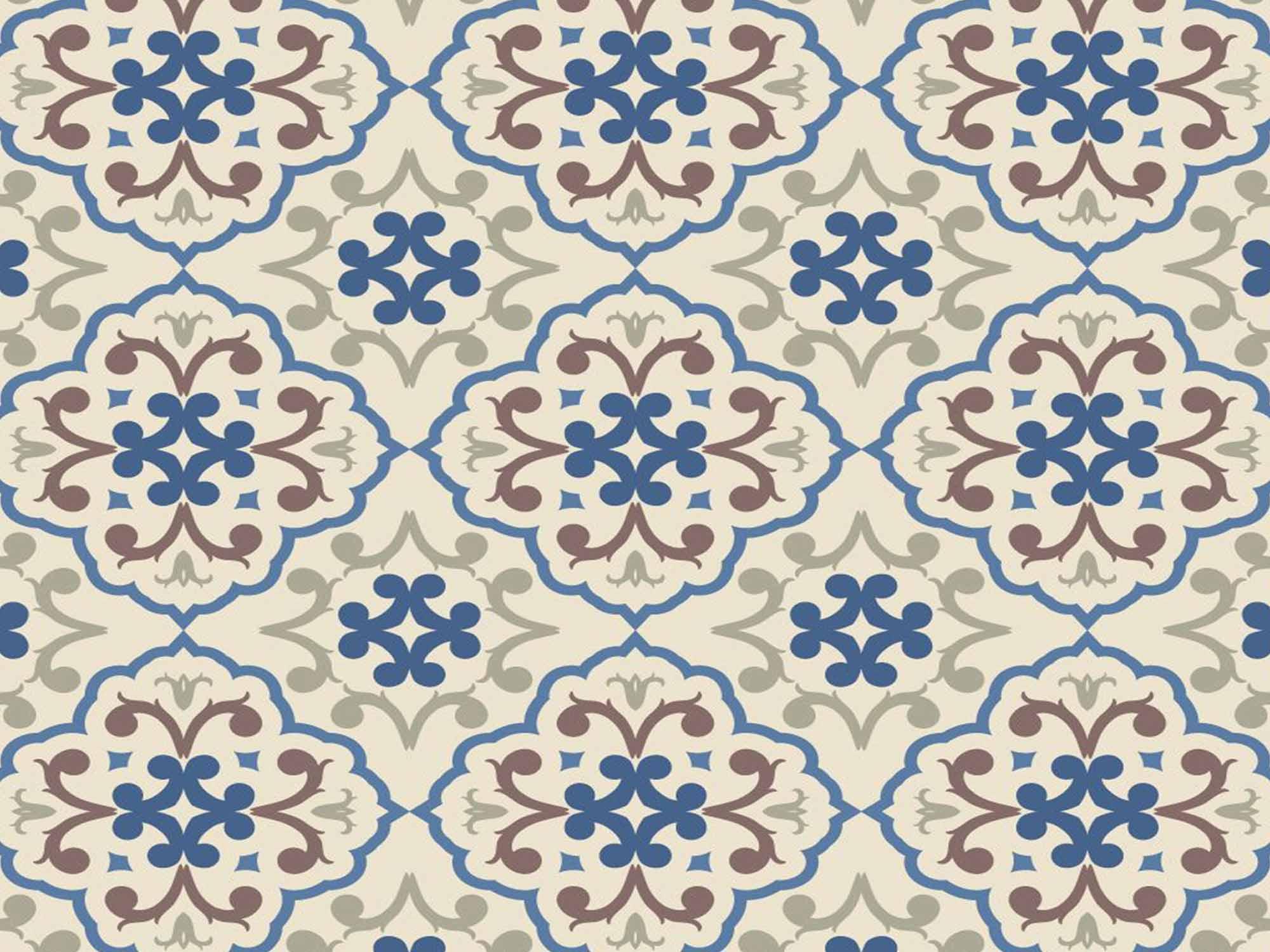 Papel de Parede para Cozinha Azulejos 0021 - Adesivos de Parede  - Paredes Decoradas