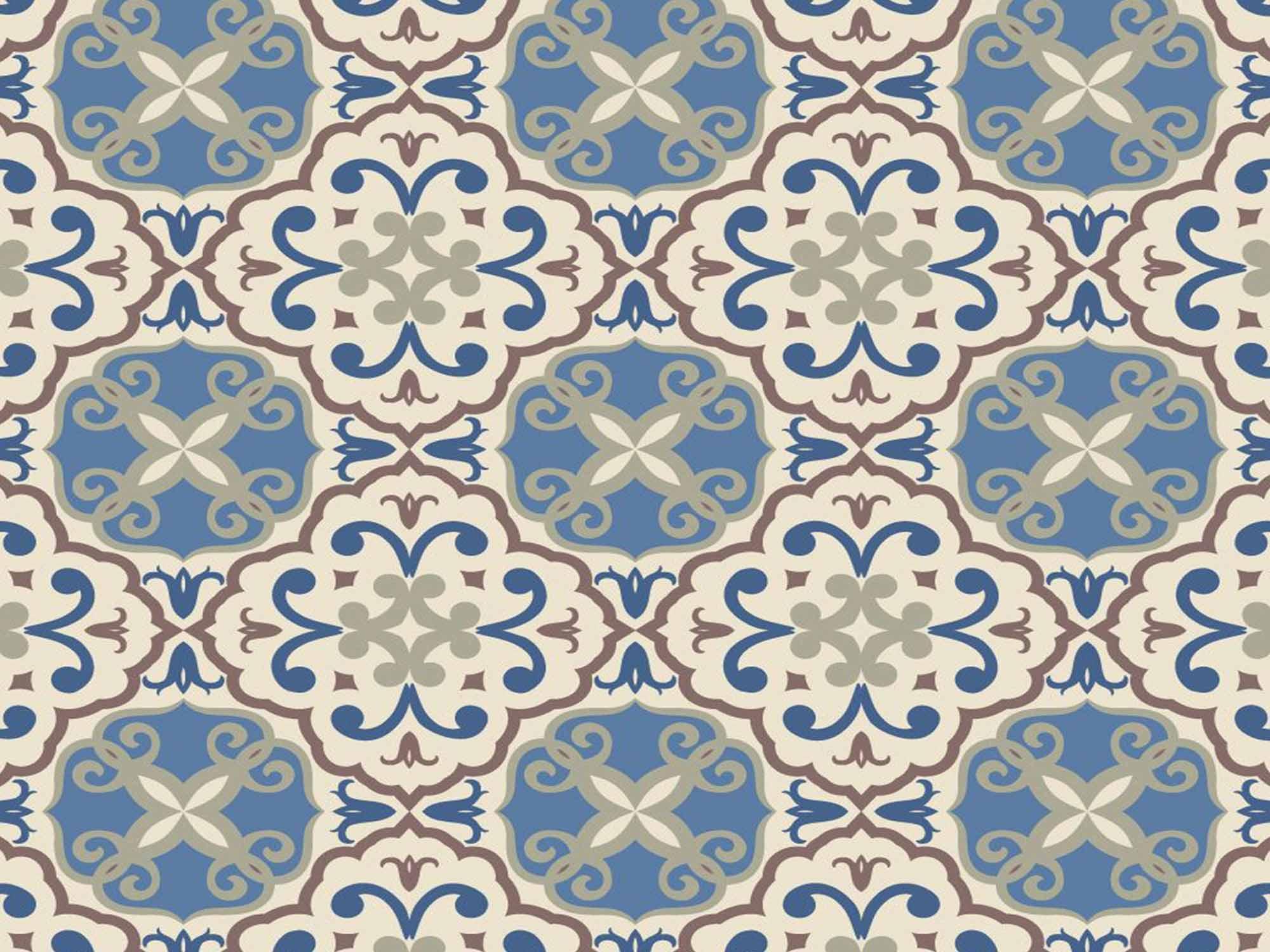 Papel de Parede para Cozinha Azulejos 0022 - Adesivos de Parede  - Paredes Decoradas