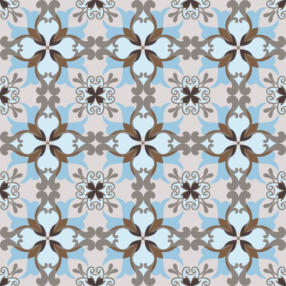 Papel de Parede para Cozinha Azulejos 0025 - Adesivos de Parede  - Paredes Decoradas