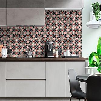Papel de Parede para Cozinha Azulejos 0027 - Adesivos de Parede  - Paredes Decoradas