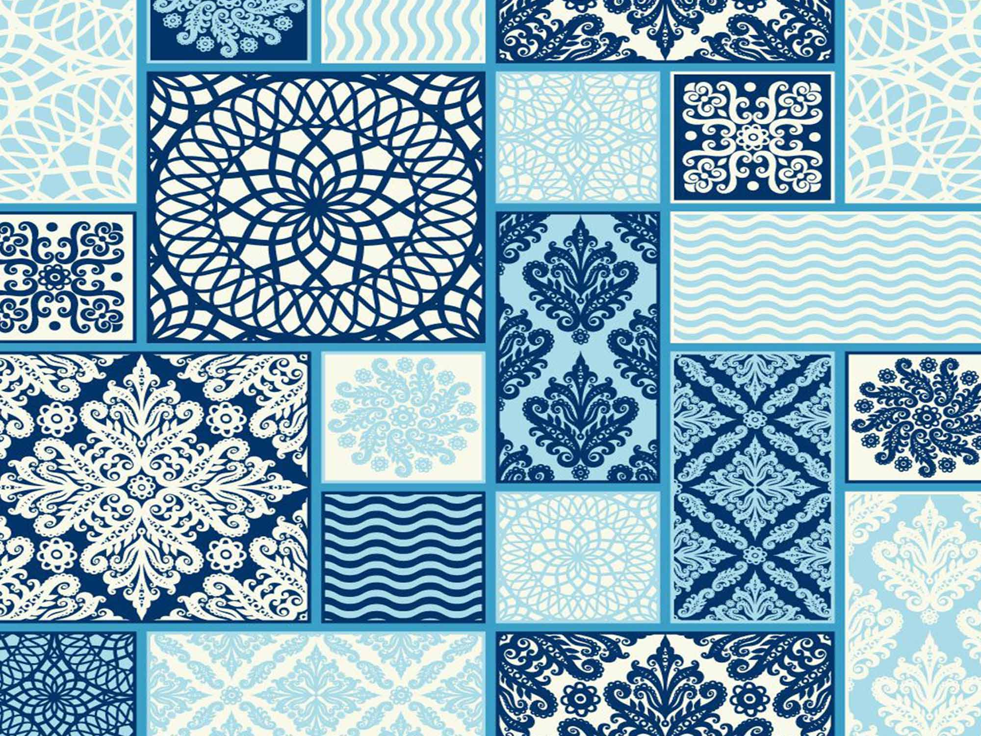 Papel de Parede para Cozinha Azulejos 0033 - Adesivos de Parede  - Paredes Decoradas
