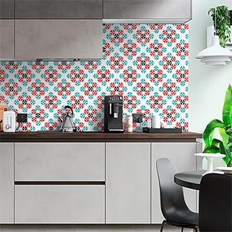 Papel de Parede para Cozinha Azulejos 0036 - Adesivos de Parede  - Paredes Decoradas