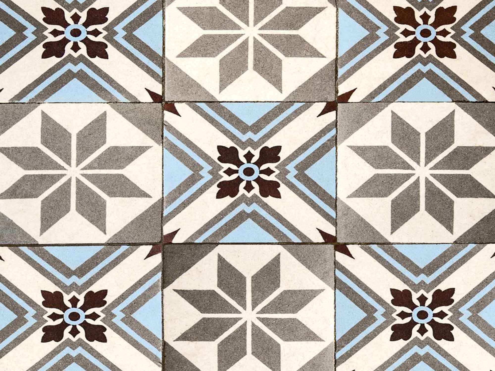 Papel de Parede para Cozinha Azulejos 0045 - PROMOÇÃO  - Paredes Decoradas