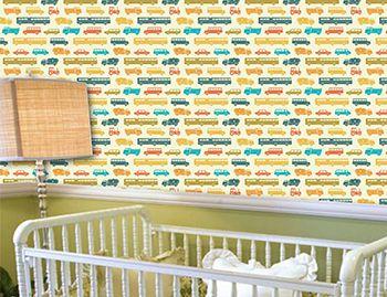 Papel de Parede para Quarto Infantil 0049 - Adesivos de Parede