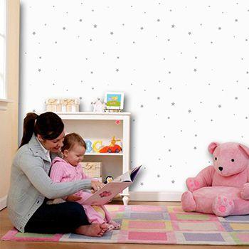 Papel de Parede para Quarto Infantil 0050 - Adesivos de Parede