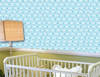 Papel de Parede para Quarto Infantil 0052 - Adesivos de Parede
